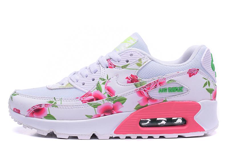 air max blanc et rose